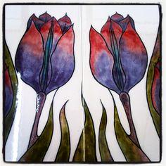 Purple Tulips by Sıraltı
