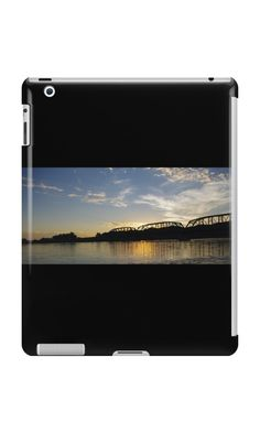 'Bridge at Sunset' iPad Case/Skin by MsSexyBetsy Self Promotion, Ipad Case, Bridge, Sunset, Bridges, Sunsets, The Sunset, Attic, Bro
