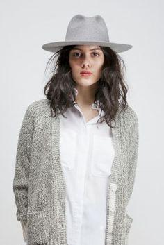 Midnight Wool Hat by Études