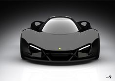 Ferrari Xezri Concept (Samir Sadikhov) Güncelleme | OTOTASARIM.COM