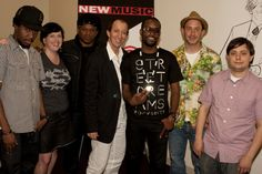 Saint Louis (Brand Strategist/Co-founder GFCnewyork), Kristin Bredimus (Co-Conductor, Director of Community, Ourstage.com), Sway Calloway (Co-Conductor, News Correspondent, MTV News). Mickey Factz (Artist), Sam Hollander (Producer/Songwriter, S*A*M) and Nick Catchdubs (DJ, Fools Gold) NMS NYC 2009