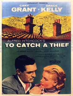 To Catch a Thief - Cary Grant & Grace Kelly