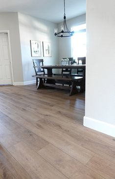 Provenza Vinyl Flooring Review - Cutesy Crafts New Homes, Luxury Vinyl Plank Flooring, Vinyl Flooring Kitchen, Floor Makeover, Lvp Flooring, House Flooring, Vinyl Wood Flooring, Vinyl Wood Planks, Luxury Vinyl Plank