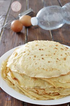 Healthy Cooking, Cooking Recipes, Cannelloni, Marzipan, Crepe Cake, Crepe Recipes, Pasta, Pancakes And Waffles, Mini Desserts
