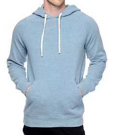 Elevate your style with the Dash heather blue hoodie from Zine. This super soft and comfortable hoodie is the perfect essential that you can wear with anything. The Dash hoodie features an adjustable drawstring hoodie and a front kangaroo pouch pocket.
