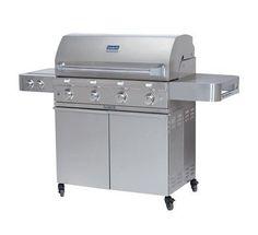 SABER SS 670 Premium Stainless Steel 4 Burner Gas Grill