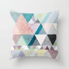 Triangle Colors Pillow Cover | dotandbo.com
