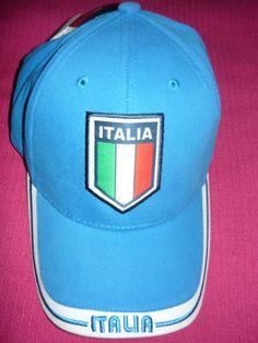 938a641f480 Italy Italia Hat Cap Soccer Rhinox CIR08 Futbol Football Euro Cup Gol FIFA
