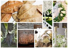 Natural earthy wedding vibes, for those brides with an appreciation of nature and style.