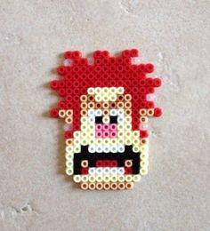 Wreck-it Ralph Perler Beads