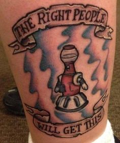 Tom Servo (Mystery Science Theater 3000) | Source: @ChristessaC, inked by Timmy Friday at Dreamline Ink