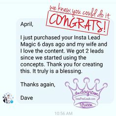 This is exactly why I do what I do! Congrats @dobiso for taking action and getting some leads applying what you learned in my #InstaLeadMagic course! Love it!     _____________________________  Get access to my exact step by step blueprint for getting targeted leads and sign ups from Instagram...  Check my bio for my  Instagram Training now!  Or go to:       http://ift.tt/1SvJxxG http://ift.tt/1SvJxxG http://ift.tt/1SvJxxG http://ift.tt/1SvJxxG http://ift.tt/1SvJxxG http://ift.tt/1SvJxxG…