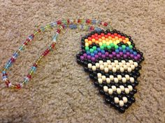 Rainbow Ice-Cream Necklace