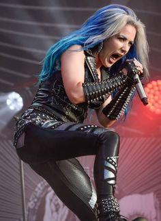 Rock And Roll Girl, Alissa White, Arch Enemy, Goth Women, Dark Gothic, Metal Girl, Punk, Rock Stars, Hunger Games