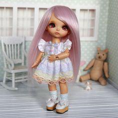 Lati yellow 5-6 wig soft pastel pink straight extra long