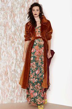 ❤ that velvet coat