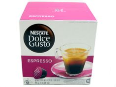 Dolce Gusto Espresso Coffee Capsules For The Dolce Gusto Machine By Nescafe