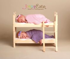 Small Whimsical Newborn Twins Photography Prop by Acraftersnook- SOOOO ADORABLE!!