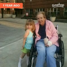 Lucy 4 Mom 75 at Shore Pointe Rehab. Hip and wrist recovery 05-02-15
