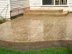 Concrete Finishes For Patios | ... Decorative Concrete Finishes Available  For Your Next Concrete