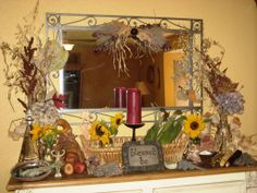 CW WomanCrafting Tip for the Season of Lammas ~   Creating Your Lammas Altar    Use colors like gold, burgundy, green, yellows. Add corn, grains, nuts, corn dollies, wheat sheaves, wheat weavings, seasonal produce, gourds, sunflowers, cornflowers, poppies, herbs from the garden, loves of bread, containers of water, onion/garlic braids, seeds.    What do you place on your Lammas altar honoring the Season of Harvest, Transformation and Sacrifice? Wiccan Sabbats, Corn Dolly, Pagan Altar, Home Altar, In Season Produce, Beltane, Wine And Beer, Time To Celebrate, Gods And Goddesses
