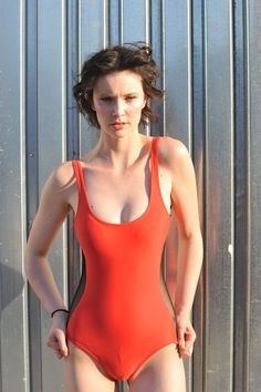 Animal Friendly FASHION! 20% Off: VAUTE Classic Scoop One Piece in Ariel's Hair Red