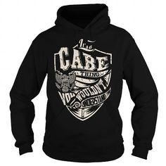 I Love Its a CABE Thing (Eagle) - Last Name, Surname T-Shirt T shirts