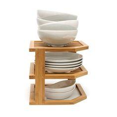 corner dish storage!