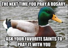 I had never thought about this fantastic way to pray the Rosary!