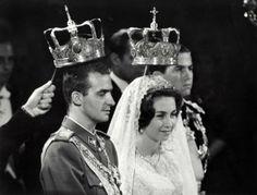 Juan Carlos et son épouse la reine Sofia