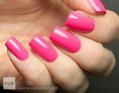 Nicole by OPI Scandalous Neons- Pink Neon