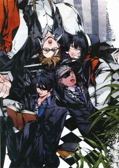 La storia della arcana famiglia Anime art