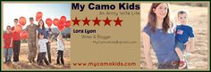 "My Camo Kids business card ""Show n Tell"""