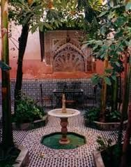 moroccan fountains - Google Search