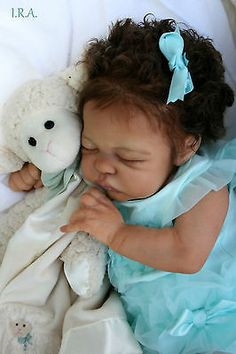 STUNNING Reborn baby girl doll Quinlynn by Laura Lee Eagles Artist Lisa F Lovern