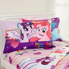 My Little Pony Pony Fied Sheet Set - Walmart.com