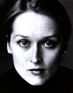 Meryl Streep. 1968     Valentino Vamp