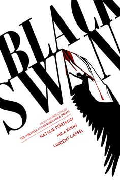 Black Swan [Custom, 12 of 189 high-resolution movie posters in this group. Black Swan Movie, Black Swan 2010, Swan Lake Ballet, Requiem For A Dream, Ballet Dancers, Film Posters, Back To Black, Graphic Design, Darren Aronofsky