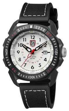 Luminox Ice-sar Artic 1000 Series White Dial Fixed Bezel Sapphire 1007 for sale online Army Watches, Seiko Watches, Watches For Men, Latest Watches, Search And Rescue, 316l Stainless Steel, Black Rubber, Watch Brands, Quartz Watch