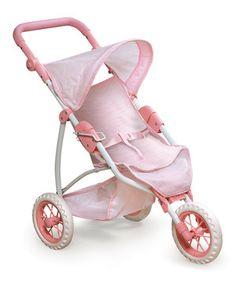 Loving this Doll Jogging Stroller on #zulily! #zulilyfinds