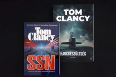 Tom Clancy Harckészültség - tengeralattjárók harca könyvbemutató a Tom Clancy életmű magyar fordításban megjelent komplettírozó tétele.
