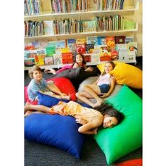 Giant Indoor Cushions, 90cm x 90cm, Soft and Comfortable for indoor class activities