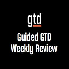Ever wonder what it would be like to have a David Allen Company coach guide you through an entire GTD Weekly Review®? Now, in this interactive session, Senior GTD Coach Meg Edwards takes you through the entire process step by step. As you get clear, get current, and get creative, you'll quickly see why the …