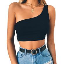 CUCUHAM Womens Sexy Vest Fashion Blouse Camisole Cotton Sleeveless TShirt S Black -- Check out this great product. (This is an affiliate link) Summer Fashion Outfits, Trendy Outfits, Cute Outfits, Ladies Fashion, Fashion Clothes, Summer Fashions, Womens Fashion, Fashion Moda, Look Fashion