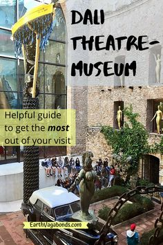 The best time to visit Salvador Dali's genius at the Dali Theatre-Museum; and see Girona on the return to Barcelona. Salvador Dali, Day Trip, Theatre, Barcelona, Spain, Museum, Earth, How To Get, Good Things