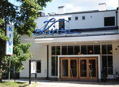 Elokuvateatteri Kiva Salossa (Bryggman 1938). Nykyisin rakennus toimii kulttuuritalona. #funkis #funkkis #functionalism