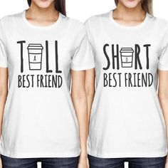 Cute Best Friend Tall and Short Matched T-Shirts BFF Coffee Price: $23.66  Size  measurement  Bust  Shoulder  Length  cm  inch  cm  inch  cm  inch  S  90cm  35.43  36cm  14.17  60cm  23.62  M  94cm  37.01  38cm  14.96  62cm  24.41  L  98cm  38.58  40cm  15.75  64cm  25.20  XL  102cm  40.16  42cm  16.54  66cm  25.98  2XL  106cm  41.73  44cm  17.32  68cm  26.77         Link: http://ift.tt/2zdxzom