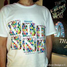 Kekeye T-Shirt of the Day, Wien, Vienna in Dots Design Web Design, Dots Design, Design Products, Marketing, Vienna, Designer, Interior, Mens Tops, T Shirt