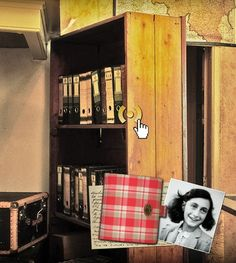Anne Frank House Museum in Amsterdam Anne Frank Haus, Great Places, Places Ive Been, Amazing Places, Margot Frank, Amsterdam Houses, Hiding Places, Before I Die, Women In History