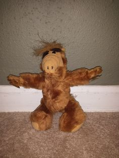 Alf Window Cling Suction Cups 1988 Alien Productions #GUND